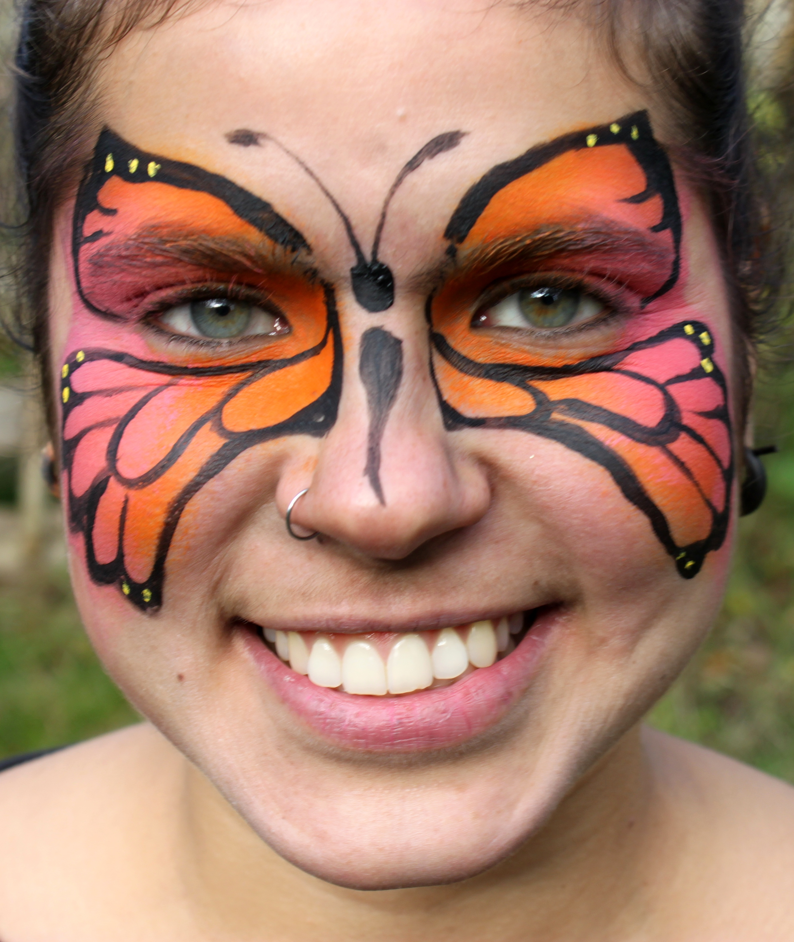Diy Face Painting Butterfly